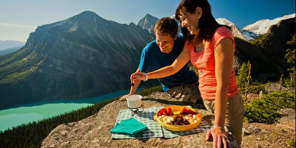 Mountain-top-meal