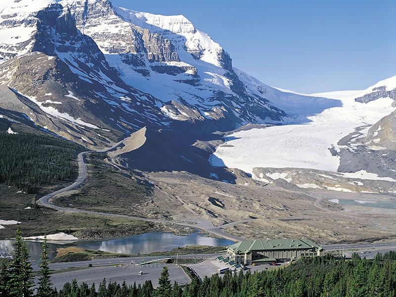 Icefields Parkway Points of Interest, Attractions, Viewpoints
