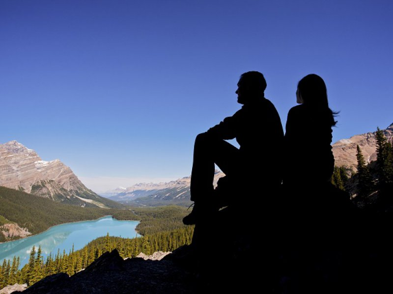 Bow Summit Lookout along the Icefields Parkway